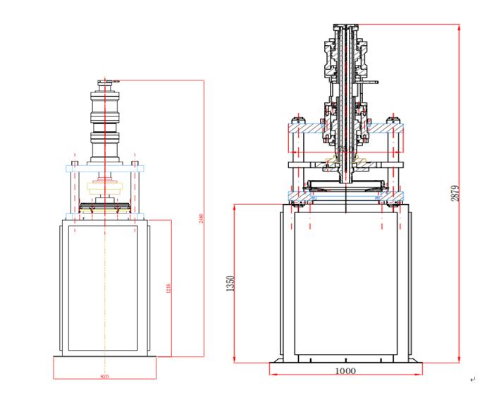 四氟管推压机PFG150,20-150mm(图1)